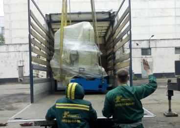 Быстрая погрузка тяжеленных грузов на автомобили
