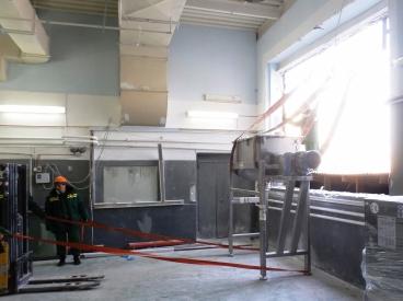 Перемещение производственного оборудования по цеху