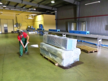 Переезд линии Волоколамского сахарного завода