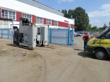 Подготовка станка MORI SEIKI NMV 3000 DCG к погрузке на низкорамный трал.