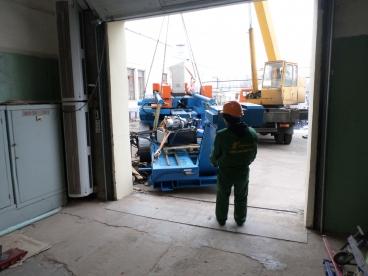 Внос оборудования в цех