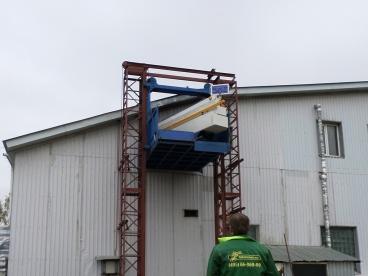 Перевозка столярной мастерской на новый адрес Мосрентген