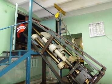 Оказаны услуги по транспортировке прессового оборудования для компании Газпром геотехнологии