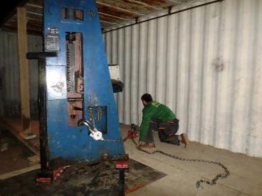 Перемещение грузов в контейнер Реутов