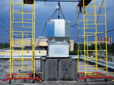 Монтаж и установка вентиляции